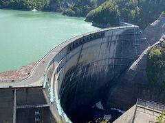 ダムの放流は、6月下旬から10月中旬ごろなので、今は放流はありませんが、空いています。
