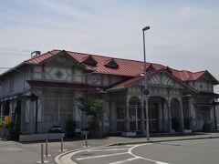 南海本線浜寺公園駅で下車して、阪堺電車浜寺駅前電停へ向かいます。
