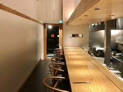そして、お店は希須林。  3月に行けなかったので。  以前はファミレスみたいな店内でしたが、今はカウンター席オンリー。 こうしたことで、大人の店になりました。