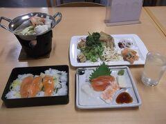 安いわりには美味しい夕食 ワンドリンク付の日本酒も!