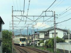 富士山をズームします。