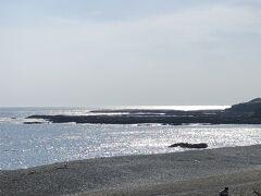 こちらも途中であった道の駅「志原海岸」!