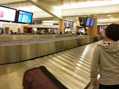 アトランタ空港のバゲージ・クレームでスーツケースを受け取って、タクシーで市内のホテルにチェックインします。