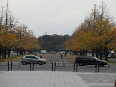 東京駅から皇居方面の風景です。