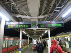 上総一ノ宮で当駅始発の安房鴨川行きに乗り換えです。8両編成でまあまあ乗車していましたが、普段はどうなのでしょうか?