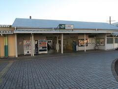 大原駅に戻ってきました。