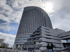 シーバス みなとみらい乗り場から 横浜グランドインターコンチネンタルホテル