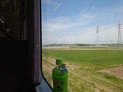 ★9:40 上野村へのバスは高崎線の新町駅もしくは、八高線の群馬藤岡駅から出発。私の家からだと八高線の方が圧倒的に便利なので、勿論八高線のキハで移動。安定の2人ボックス占有で快適快適。