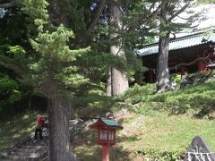 二荒山神社が登山口