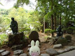 芭蕉と曽良もお参りされた地でもあります。 記念碑も建てられてるのね(・~・)。