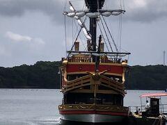 こちらが当初乗ろうとしてた賢島エスパーニャクルーズの海賊船!