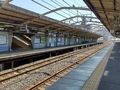 ●JR津久野駅  マジマジみると、なかなかぼろい(笑)駅。 ホームも大丈夫かしら???とつい思ってしまいます。