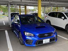 サクっと北海道に到着 予約済のニッポンレンタカーへGO WRX Sti