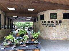 3日目。宿のすぐ近く、箱根湿生花園。