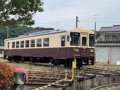 前日引退した内装がマリメッコの電車止まってました。 見れて良かった