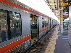浜松駅⇒豊橋駅で乗り換えて名古屋方面へ。