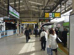 いつも乗ってる通勤電車よりも早めの中央線の電車に乗り、そこから山手線に乗りついで、上野駅までやってきた。