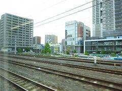 金町駅付近。 この先で江戸川を渡って、千葉県へ。