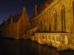 マリア通りの橋から見る運河  建物は聖ヨハネ修道院