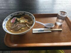 アルプ天元台のレストラン白樺で辛味噌ラーメンのランチとします