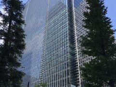 東京・大手町『Four Seasons Hotel Tokyo at Otemachi』  2020年9月1日にオープンした『フォーシーズンズホテル東京大手町』の 外観の写真。  『フォーシーズンズホテル東京大手町』は、『Otemachi Oneタワー』 の34~39階に位置します。