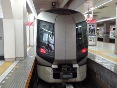 特急リバティ会津111号.会津田島行に乗ります。 ‥と、言いたいのですが、特急指定席が1,470円! 予算オーバー確定なので、乗れません。