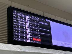 あいにくの天候の初日。 伊丹空港705発の出雲行きは、条件付きとなっていて、コンディションが悪いときは福岡空港に着陸するか、伊丹空港に戻ってくるということ。どちらに転んでも計画の大幅変更が免れません。なんとか無事出雲に着陸してもらえるよう祈りながら搭乗します。