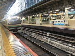 東京駅で、5時20分発東海道本線各駅停車沼津駅行きに乗り換え。