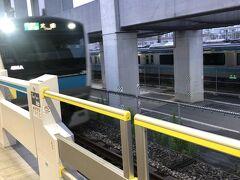 地元東十条駅は4時45分発。始発2本目。
