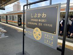 さて、渋川駅で吾妻線に乗り換えます。 かなり(40分)待ちました。