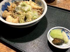 お昼ごはんは駐車場がある 桐屋 権現亭さん。新そばを食べるつもりが おろしそばにしてしまった・・・ 夫と娘は新そば  GOTOキャンペーンのクーポンが使えました。