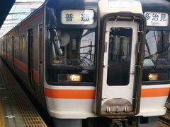 1日目: 朝6時50分の新幹線で名古屋まで移動し、在来線で岐阜へ。岐阜でこの電車に乗り換えます。