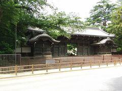 池田屋敷表門(黒門) 上野の東京国立博物館の一部です。