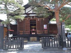 日枝神社御旅所です。 高山市内から日枝神社が離れているための施設でしょうか