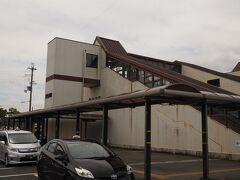電車を乗り継ぎ、JR貴生川駅までやって来た さて、本日はここからスタートする。