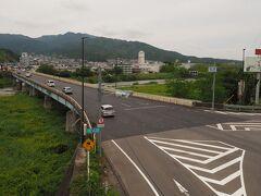野洲川に掛かる三雲橋 この橋を通って、対岸に渡る