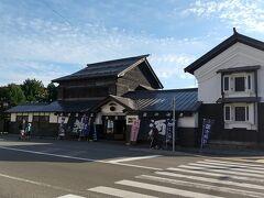 美味しいランチの後はバスで旭川駅へ。そして駅から歩いて高砂酒造へ。