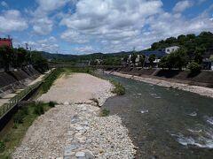 宮川、大分流れが落ち着いてきたかな。