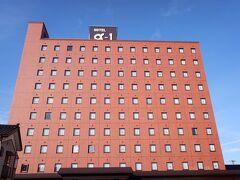 この日の宿はホテルアルファーワン鶴岡です。20年以上前に酒田を旅した時は、レンタサイクルで山居倉庫とか名所を回って、ホテルアルファーワン酒田に泊まりました。なので、今回はアルファーワンにしてみました。昔からある、比較的リーズナブルなビジネスホテルです。外観はどこも似ています。よくよく調べたら、本社は富山県みたいです。