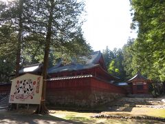 岩木山神社境内。