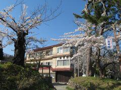 岩木山神社近くにある清明館の日帰り温泉に入浴。