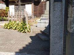 善福寺の塔頭、善正寺です。善福寺の最も近くにあります。小さなお寺です。