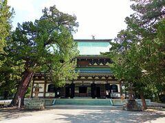 『仏殿』 関東大震災1923年に倒壊後、1964年に再建。 円覚寺のご本尊が祀られている建物。