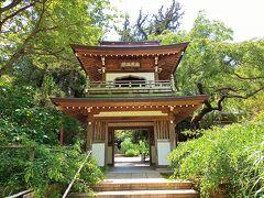 娘と昨年紫陽花シーズンに拝観した『浄智寺』  鎌倉幕府第5代執権北条時頼の三男である北条宗政が亡くなった折、その菩提を弔うために、1281年頃に創建。