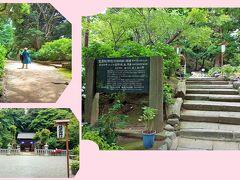 源氏山は、標高93mほどの小高い丘。 桜の名所として有名です。 まず、葛原岡神社へ。
