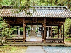 この後、検索したら近くに鎌形八幡神社があるのが分かった。 大河ドラマ「青天を衝け」の2話で獅子舞が行われた諏訪神社は ここで撮影されました。