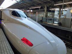 待ち合わせの場所を決めるのも東京駅だと良くわからないから、車内で待ち合わせることに。 前回のエセ双子旅は和歌山だったけど、夜行バス&飛行機だったので新幹線は皆と一緒に行った西国巡礼以来の2年ぶり。 緊張するわーって思ったら、先頭を写していたら不安そうな双子の妹(友人)の顔が目に入った。 私も今あんな不安な顔しているんだろうなあ。