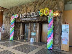 こちらは、熊野水軍の船隠し洞窟だったと伝えられる三段壁洞窟。  こちらのエレベーターで地底36mの洞窟まで降りていきます。  洞窟内には日本最大級の青胴で出来た辯才天が鎮座しており、約200mに及ぶ洞窟内通路には資料に基づいて再現された番所小屋などがあり、源平合戦で活躍した熊野水軍のエピソードを聞くことができます♪
