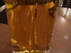 冷えたビールが旨い