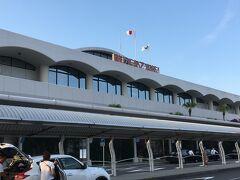 宮崎ブーゲンビリア空港にほぼ定刻で到着しました。